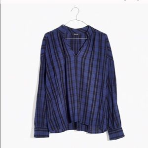 MADEWELL popover blouse